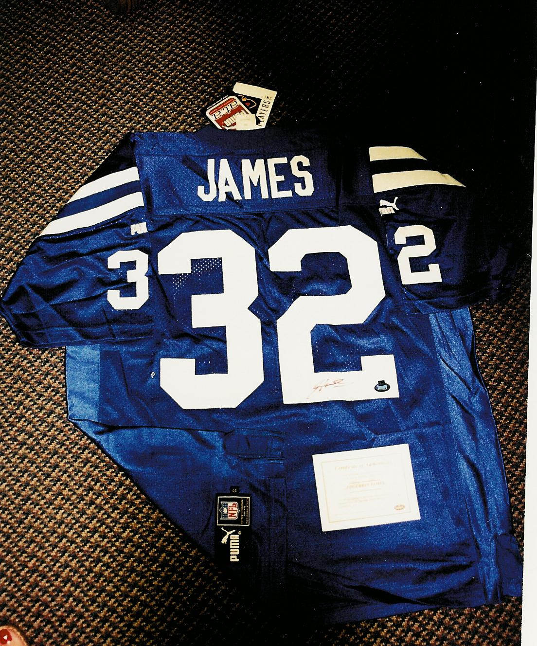 pretty nice 08860 cf66e ThePit : Card Details for Edgerrin James (EDGN)