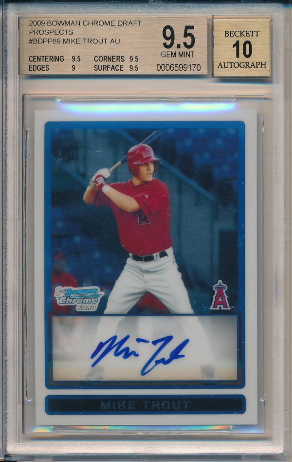 Thepit Card Details For Mike Trout Trut